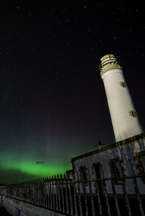 Barns Ness Lighthouse, Dunbar