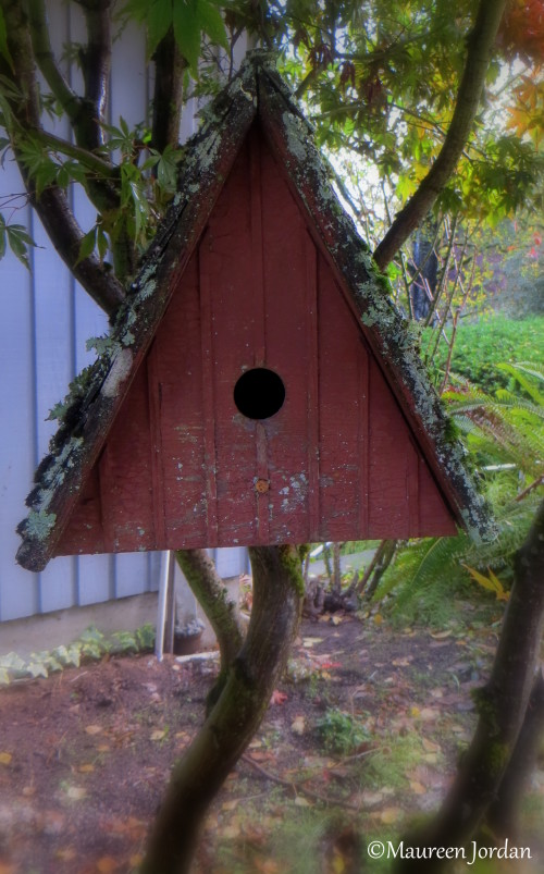 Triangle birdhouse