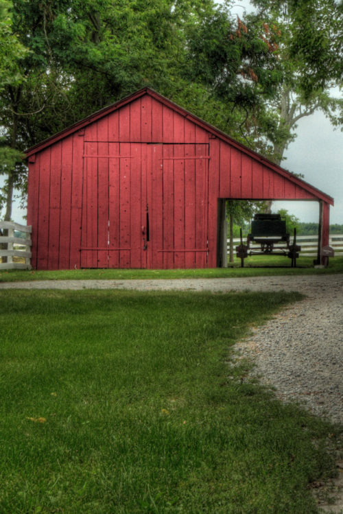 Shakertown Red Barn