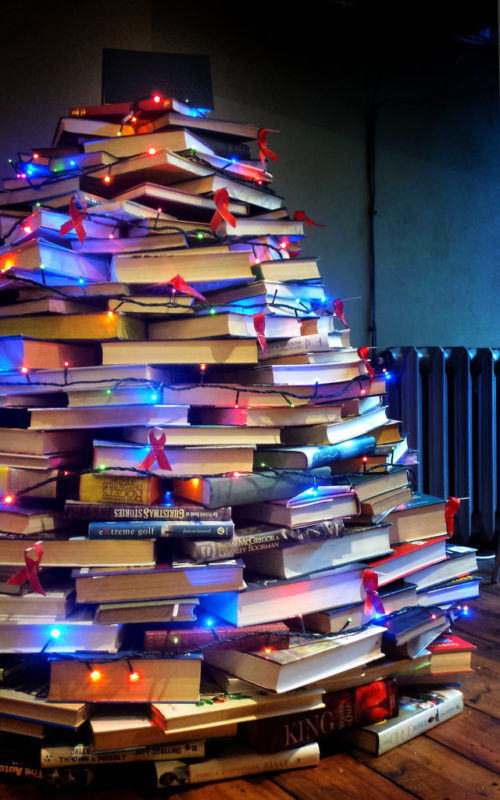 A book lovers Christmas Tree
