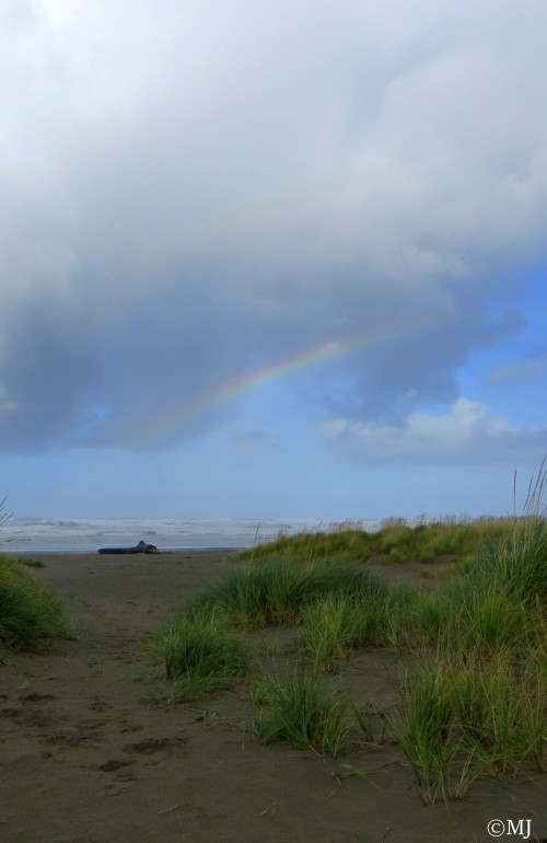 Rainbow at Seaside, Oregon