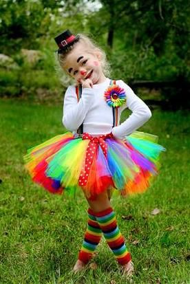Rainbow clown