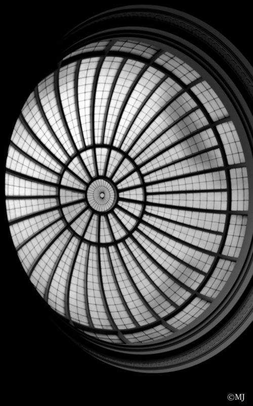 Skylight in Multnomah County Central Library, Downtown Portland