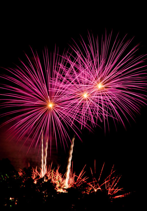 Atlantic Festival fireworks display