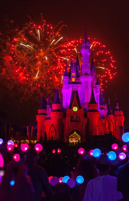 Fireworks Galore at Magic Kingdom during Wishes
