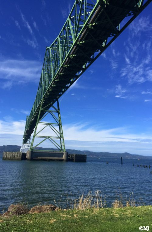 Under the Astoria-Megler Bridge