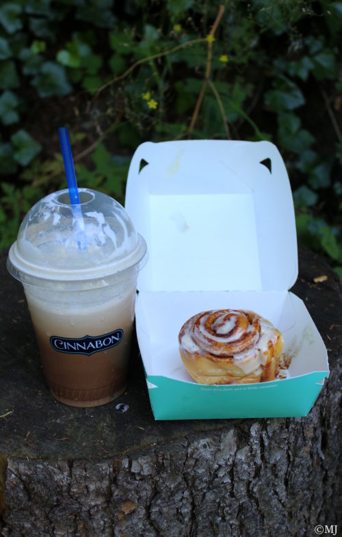 Mini Bun + Iced Coffee
