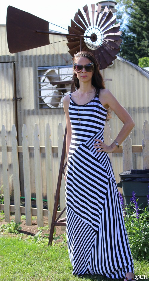 Blocked striped dress by Lauren Conrad