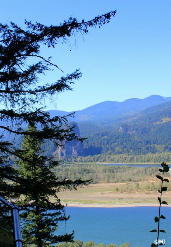 Looking across towards Beacon Rock