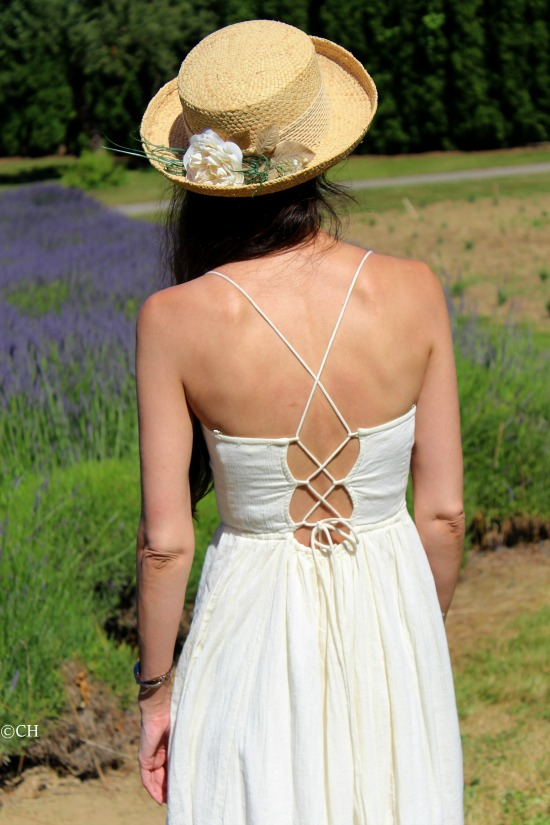 Criss cross back sundress