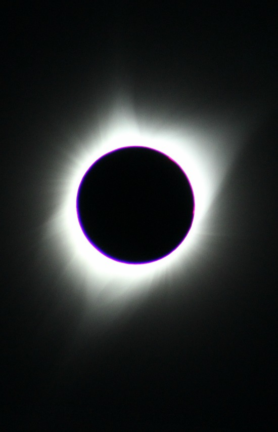 Total eclipse!