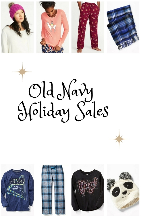 Old Navy Holiday Sales