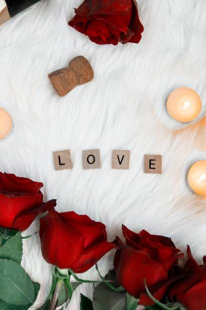 Roses and love letters