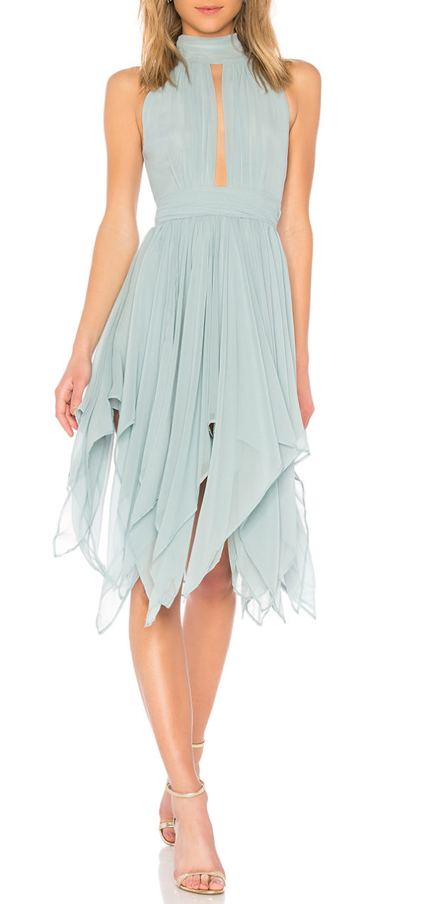 Andrea Dress in Seafoam Green
