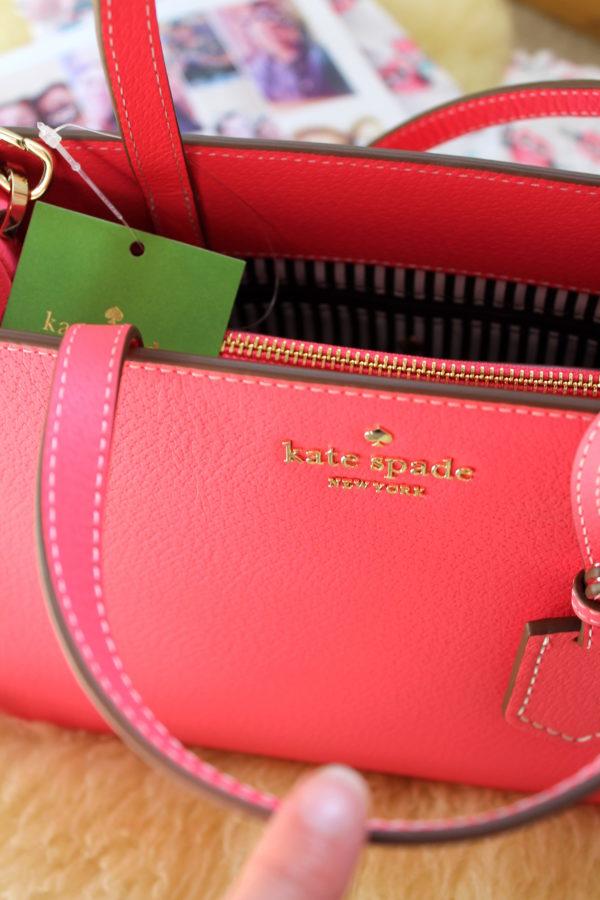 Kate Spade Thompson Street Sam Purse in Flamingo Pink