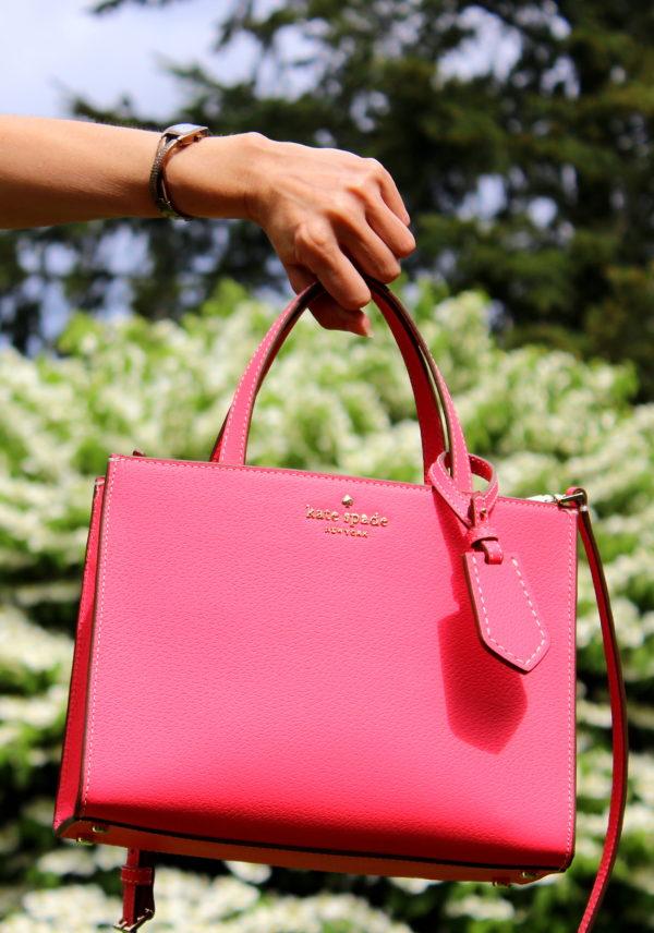 Flamingo Pink Kate Spade Handbag