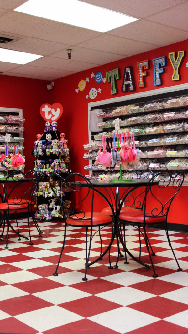 The Candy Shop at the Candy Basket Factory Outlet