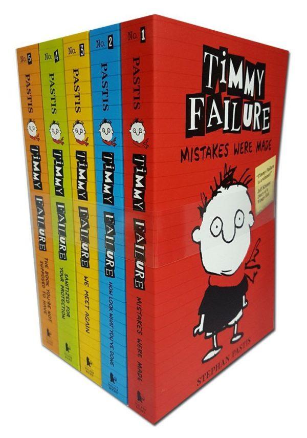 Timmy Failure 5 book series